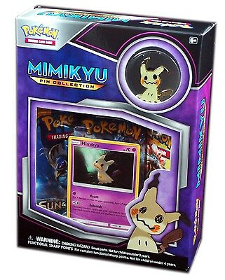 Pokemon TCG, XY, Mimikyu Pin Collection Box, New and Sealed
