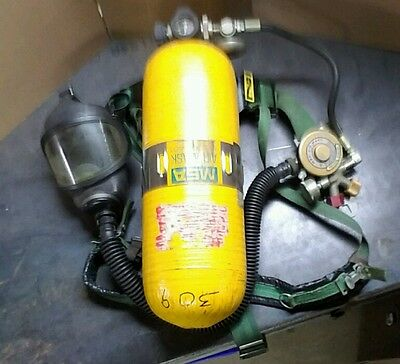 MSA Model 401 Harness & Complete Apparatus and Tank