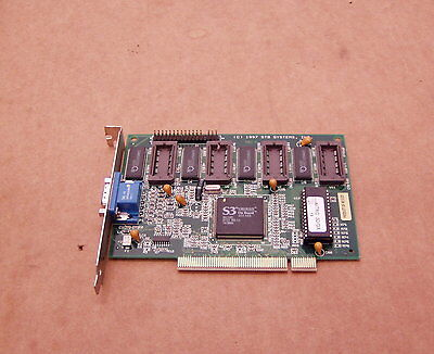 STB Nitro 3D/GX 2MB PCI Video Graphics Card Full Height S3 Virge 86C385
