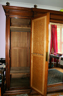 Very Large antique French Armoire Wardrobe