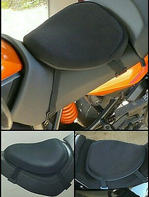 motorcycle seat gel pad cushion motorbike gel seat