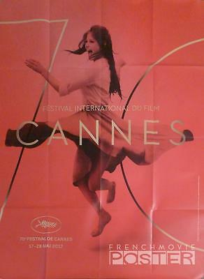 Cannes 2017 Film Festival - Claudia Cardinale - Original Large French Poster