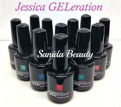 Jessica GELeration- Soak-off GEL Polish 0.5oz/15mL - Choose Any Color - Series 1