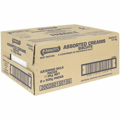 Arnott's Assorted Creams Biscuits 3kg