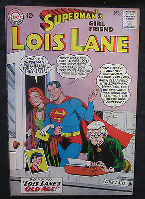 SUPERMAN'S Girl Friend, LOIS LANE #40 1963 DC Comics VG 4.0 Lana Lang SILVER AGE