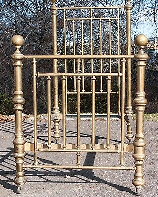 Antique Brass Twin Bed