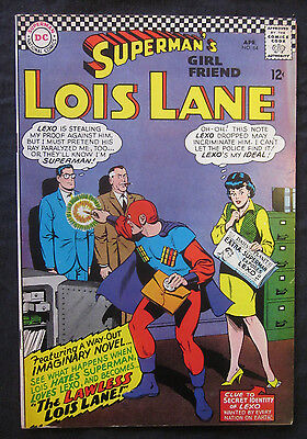 SUPERMAN'S Girl Friend LOIS LANE #64 1966 DC Comics FN/VF 7.0 Silver Age LUTHOR