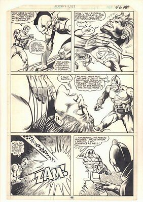 What If? #17 p.46 'Ghost Rider Spider-Woman Were Villains' by Carmine Infantino