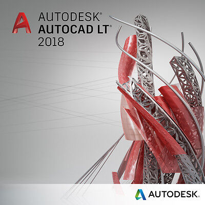 Autodesk AutoCAD LT 2018 - 3 Years license - 2 personal devices