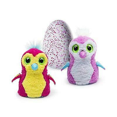 Hatchimals - Hatching Egg - Interactive Creature - Penguala - Pink Egg by Spi...