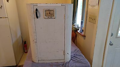 Vtg Westinghouse Roaster Kitchen Cabinet White Metal Mid Century Stand Medical??