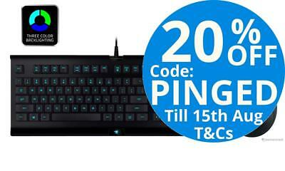 Razer Cynosa and Deathadder Optical Gaming Keyboard And Mouse Combo