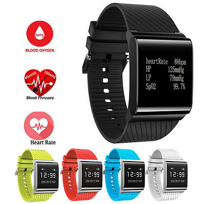 X9 Plus Heart Rate Blood Pressure Oxygen Monitor Smart Bracelet Activity Tracker