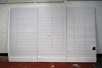 Used Greeting Cards Display Stand, 275cm Wide (3 sections together)