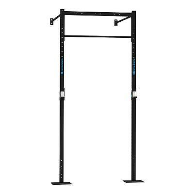 Capital Sports Half Power Rack Gym Equipment Excercise Squat Dip Pull Up Bar J