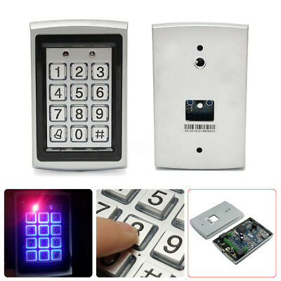 1000 Users Door Controller Waterproof Password Keypad Access Control System
