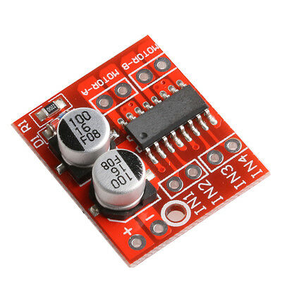 1.5A Dual Channel DC Motor Driver PWM Dual H-Bridge Speed Stepper Driver Module