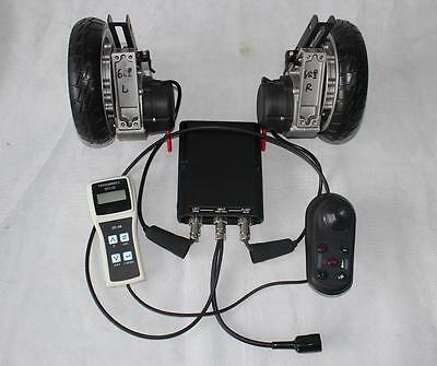 "24V 180W 8"" Brushless Geared Electric Wheelchair Conversion Kit e-Wheelchair"