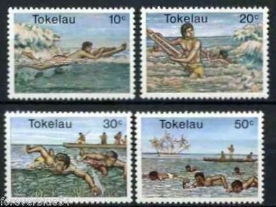 Tokelau 1980 Water Sports  MNH