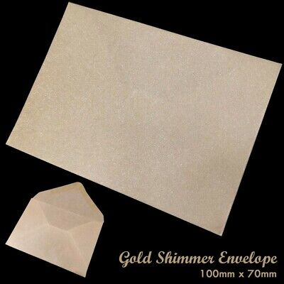 Small White Envelopes 98x68mm | Ideal for Dinner Money Wages Coin Beads & Seeds