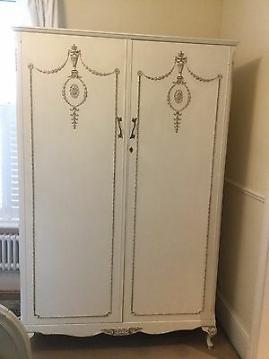 Olympus Shabby Chic Wardrobe French Louis Style