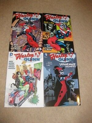 Harley Quinn Graphic Novel Lot All 4 volumes of 1st series
