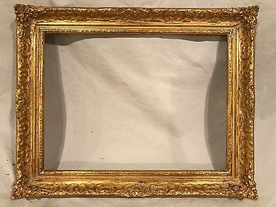 Newcomb Macklin Style 16x12 Gold Gilded Impressionist Picture Frame