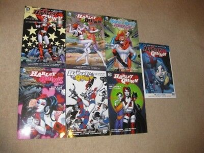 Harley Quinn Graphic Novel Lot - 7 Volumes in Total