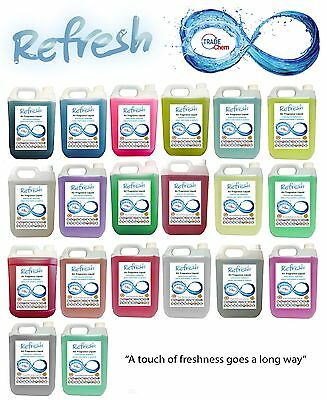 Refresh Air Fresheners 5L Containers - 20 Fragrances TRADE Chem