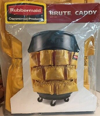 2642 Rubbermaid Brute Caddy Bag Fits 32-44 Gallon Trash Can Janitorial Container