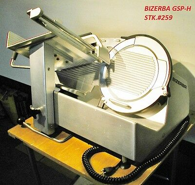 BIZERBA GSP H Meat Deli Slicer Amazing Condition 2014 Comp Hobart