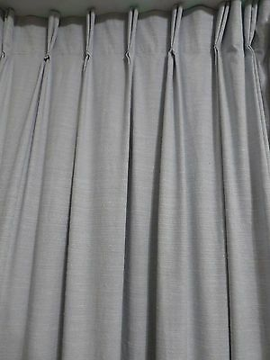 CURTAINS Blockout - Good Quality - Soft Blue -  2 Windows - Pinch Pleat