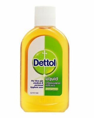Dettol  Antiseptic Disinfectant Liquid 250ml  1 2 3 6 Packs
