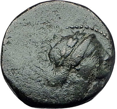 SARDES in Lydia 133BC Authentic Ancient Greek Coin APOLLO & HERCULES CLUB 61703
