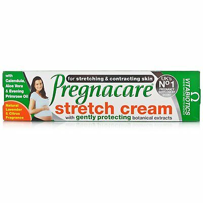 Vitabiotics Pregnacare Stretch Mark Cream Protects Skin Gentle Natural - 100 ml