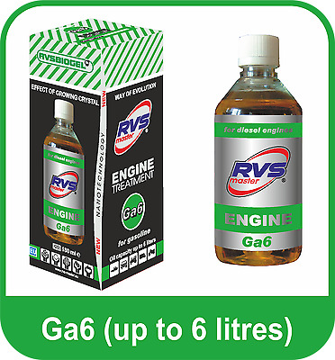 RVS - Master 4-Stroke Petrol Engines Treatment up to 6 Litres Fuel Economy