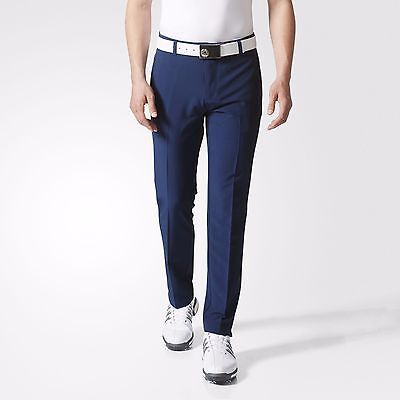 Adidas Dark Slate Tapered Fit Golf Trousers BC6750