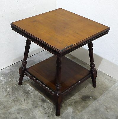Early 20th Century Rosewood/ Mahogany Occasional Table/ Lamp Stand ( 271M)