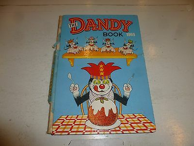 THE DANDY BOOK Annual - Year 1969 - UK Comic Annual (Damaged Spine)