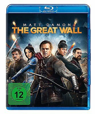 The Great Wall (Blu-Ray)***Neuwertig***