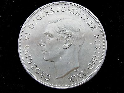 1937 Commonwealth of Australia One Crown-Silver Coin