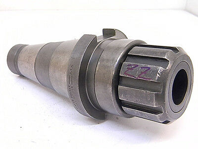 "Used Beaver Tool Nmtb-50 Double Taper Series ""zz"" Collet Chuck"
