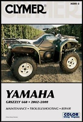Clymer Service Repair Manual Yamaha Yfm660 Grizzly 660 2005-2008 2007 2006