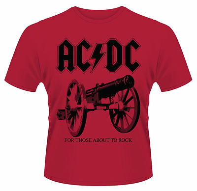 AC/DC 'For Those About To Rock' T-Shirt - NEW & OFFICIAL!