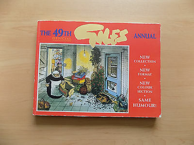 The 49th Official Giles Annual (Paperback 1995) Express Newspapers