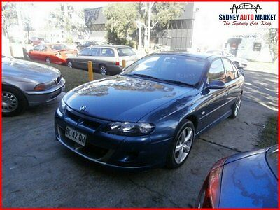 2002 Holden Commodore VX II Equipe Sedan 4dr Auto 4sp 3.8i Blue Automatic A