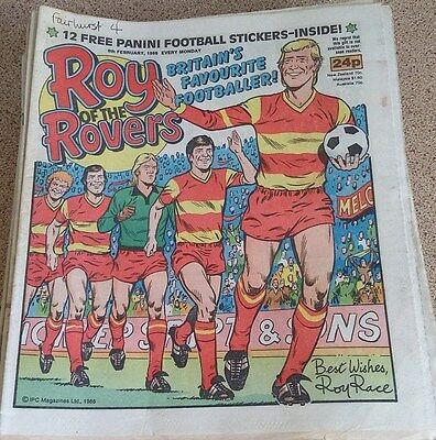 Roy of the Rovers 08th February 1986 Combined Postage Offered For Multiple Buys