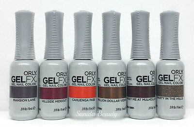 Orly GelFX GEL NAIL POLISH- MULHOLLAND Fall 2016- Choose Any Color 0.3oz/9mL