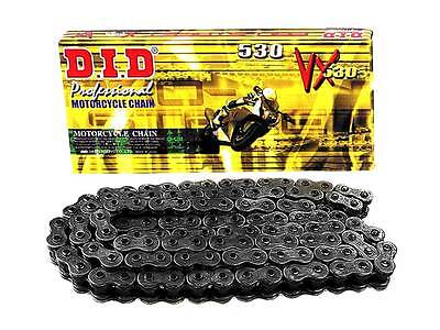 Did 530Vx X-Ring Motorcycle Drive Chain 102 Link Rivet 530