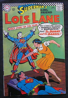 SUPERMAN'S Girl Friend LOIS LANE #73 1967 DC Comics VF- 7.5 Silver Age